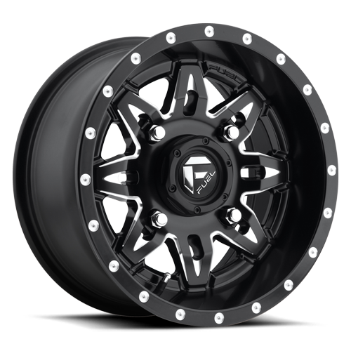 fuel off road utv wheels lethal d567 black milled west coast Black Concave Wheels fuel utv lethal blk milled