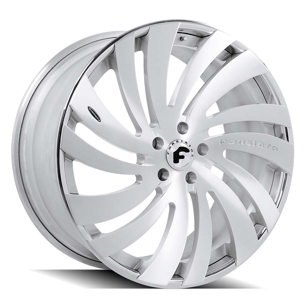 Forgiato 2.0 Exotic Canale-ECL - Brushed Chrome